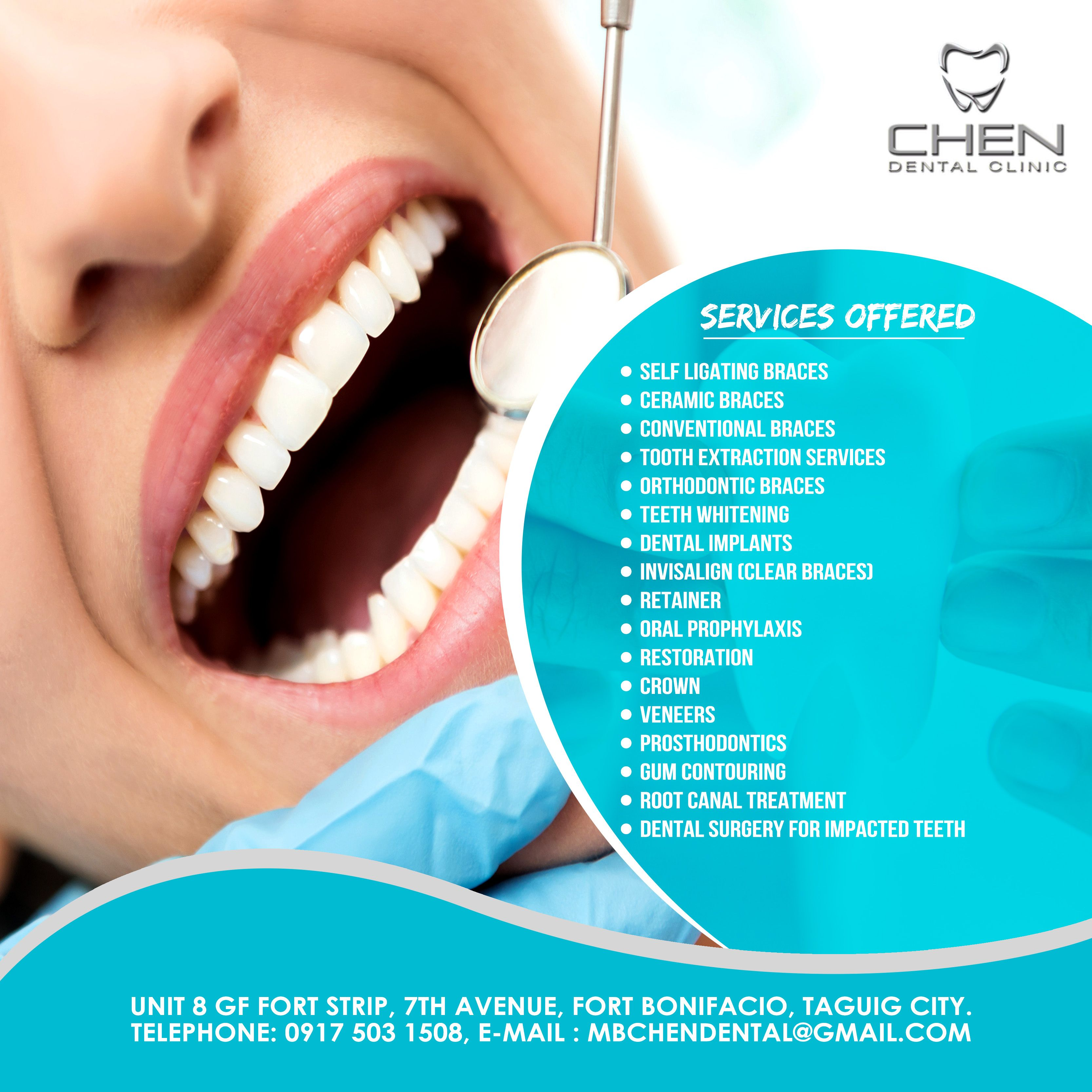 Dental Services In Bgc Taguig City Dental Clinic Dental