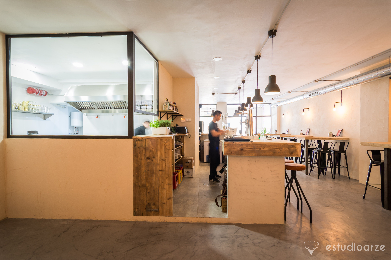 Proyecto restaurante sudeste alicante arquitectura estudio arze fotograf a zoe vega - Estudio arquitectura alicante ...