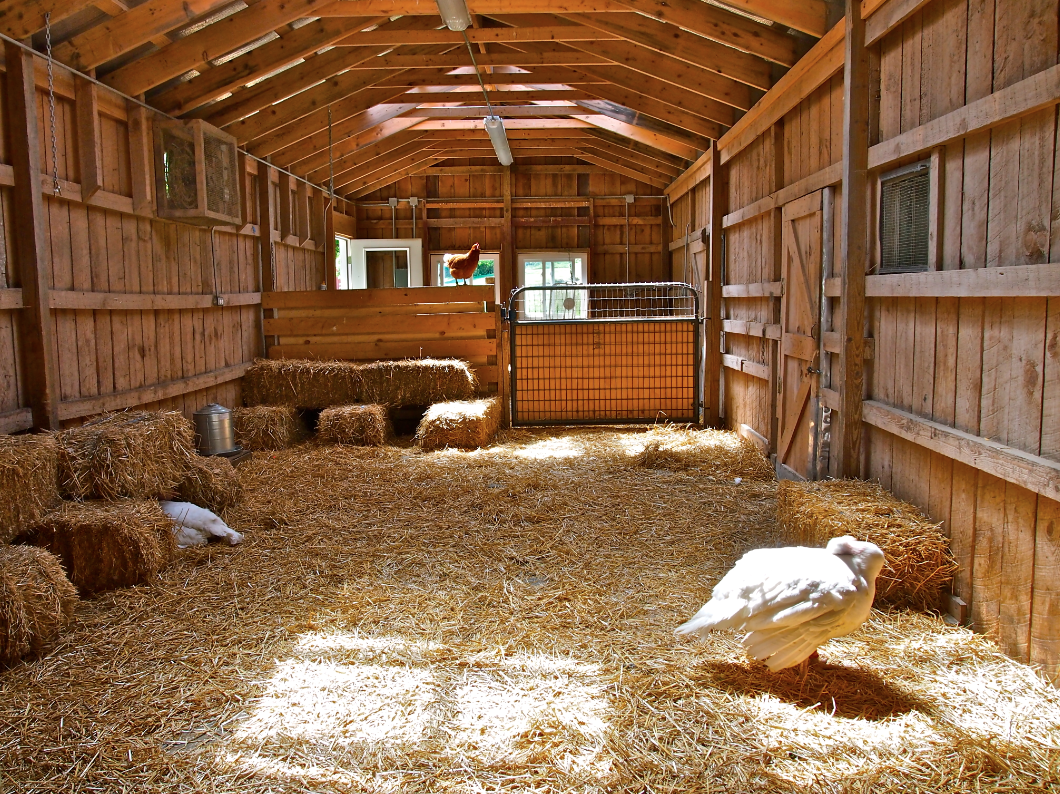 Inside Of A Barn : Farm barn inside another idea to do it without the