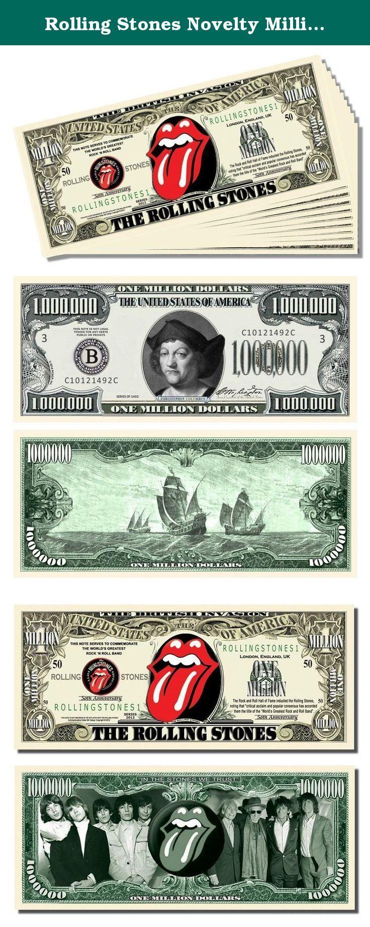 England Million Dollar Novelty Money