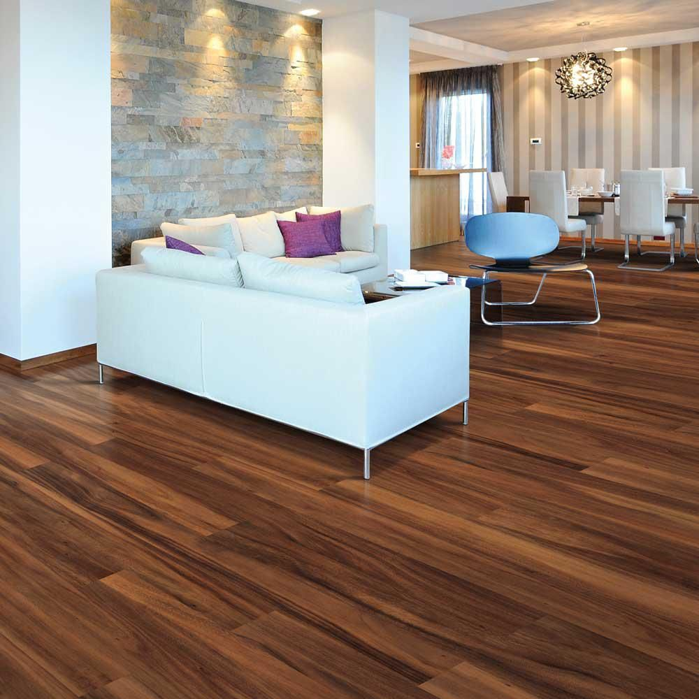 Pergo xp amazon acacia 8 mm thick x 5 7 32 in wide x 47 1 for Square laminate flooring