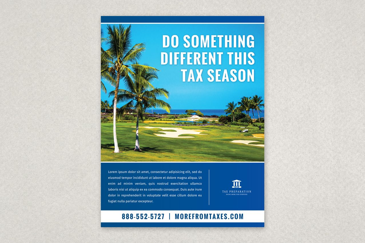Professional Tax Preparation Flyer Template Taxseason Flyer