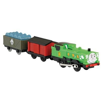Fisher Price Thomas Friends Trackmaster Duck S Close Shave Motorized Engine Thomas And Friends Close Shave Thomas The Train