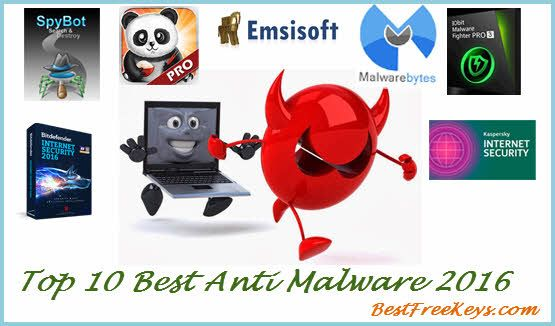 Here is a Expert's Review of Top 10 Best Anti malware Software 2016