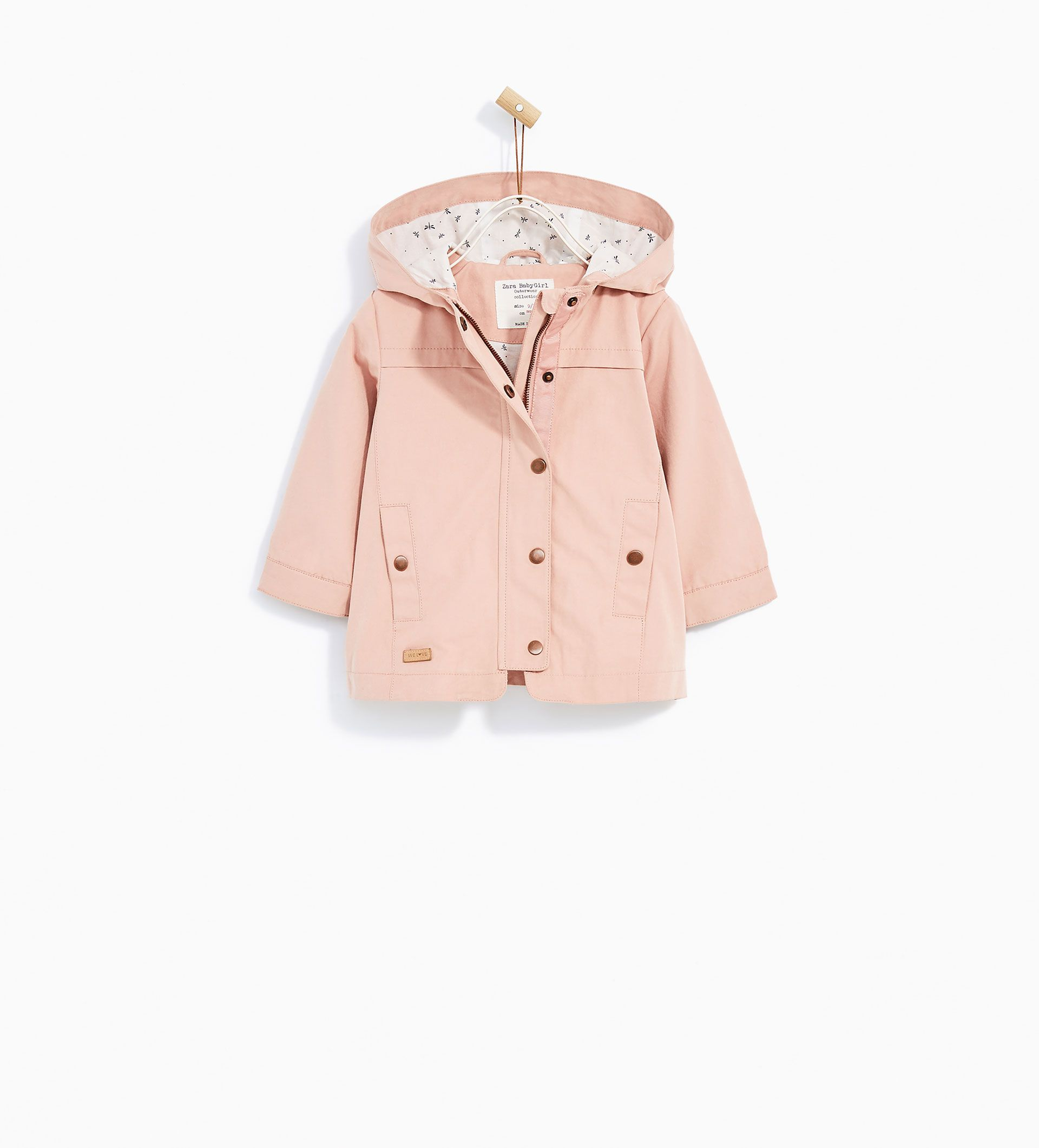 Hooded Trench Coat From Zara Baby And Toddler Girl