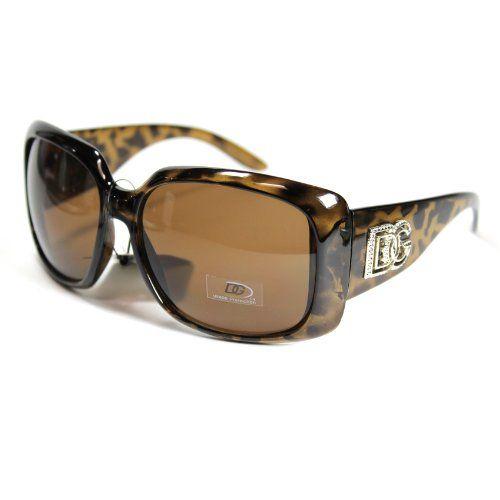 New DG Eyewear Womens Rhinestones Sunglasses Designer