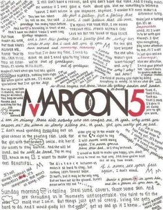 Maroon 5 Lyric Wallpapers Tumblr Google Search Music Lyrics Maroon 5 Maroon 5 Lyrics