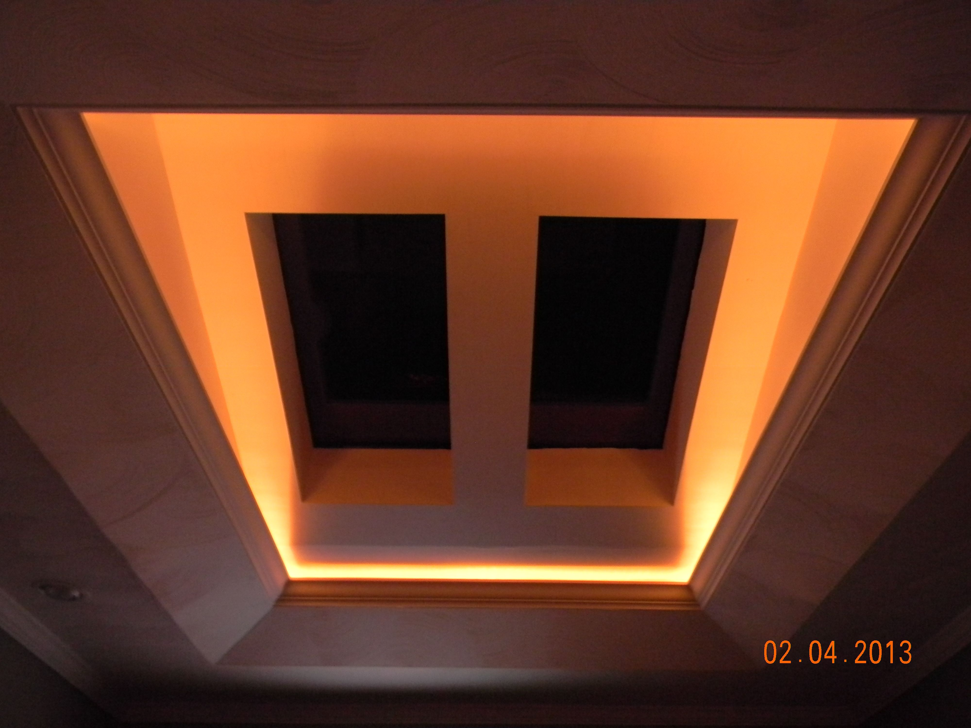 The Skylights In Our Living Room Nothing Like Looking At The Stars At Night Roof Lantern Skylight Skylight Design