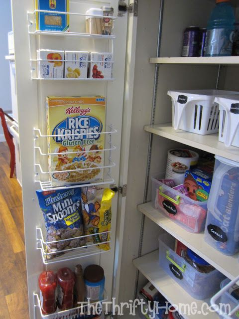 Simple Solutions To Organize A Deep Pantry