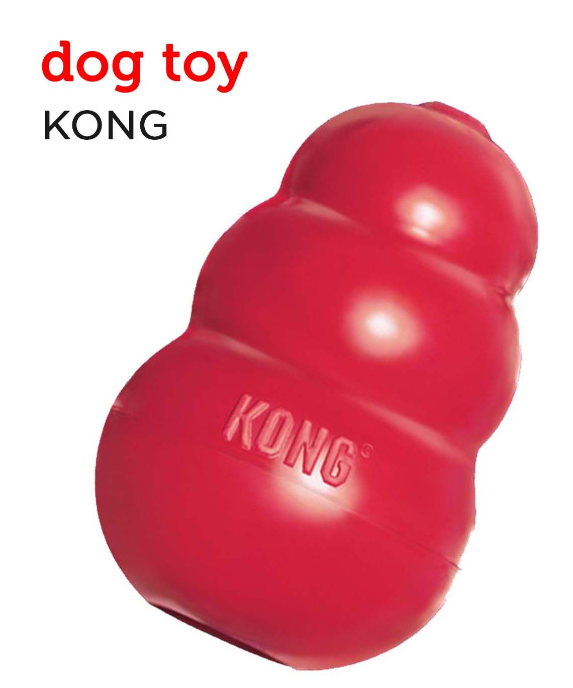 KONG dog toy from Petco's Holiday Gift Guide