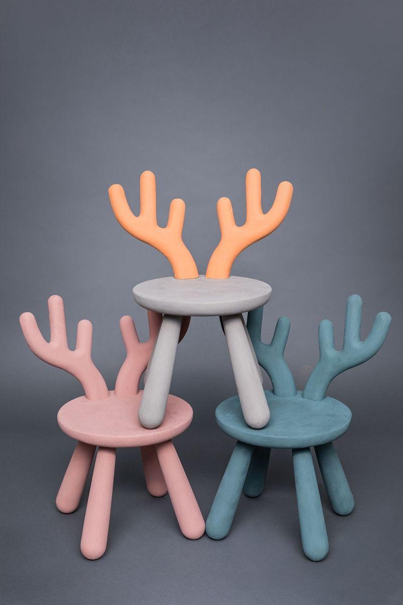 Kaufen Minitude Nordic Elch Stuhl Holz Jollyroom Babyzimmer Dekor Stuhl Holz Stuhle