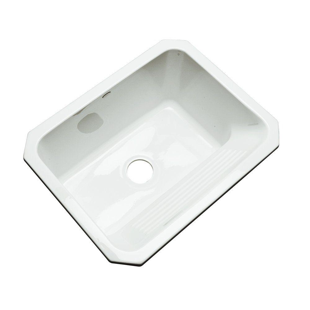 Dekor Sinks 31000um Richfield Cast Acrylic Single Bowl Undermount