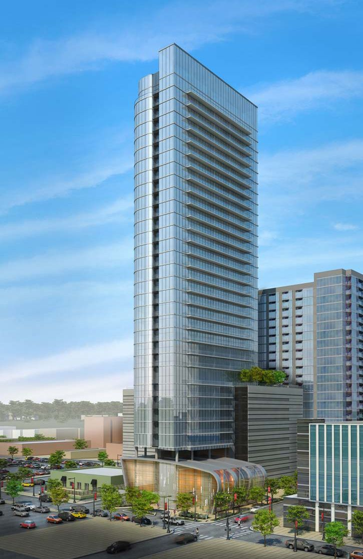 Potential 30 story apartment building at 3rd