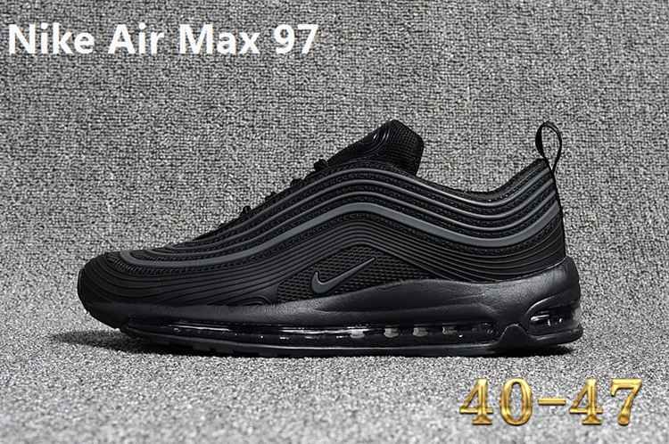 3babf0d300b0 Discover ideas about Men s Sneakers. February 2019. 2018 Popular New 2018 Nike  Air Max 97 Vapormax Kpu Zipper Triple Black Shoe
