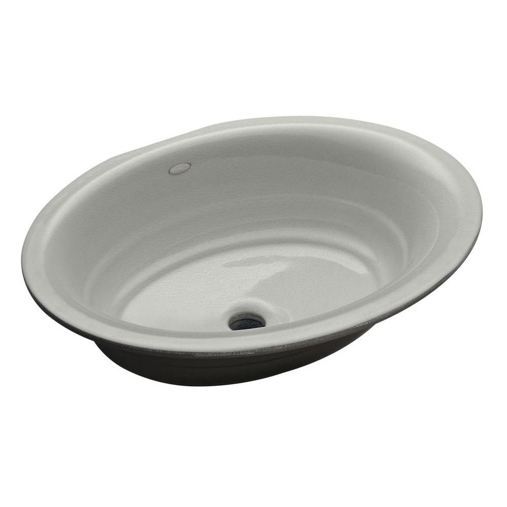 Kohler Garamond Undermount Cast Iron Bathroom Sink In Almond Brown Sink Undermount Bathroom Sink Kitchen Bath