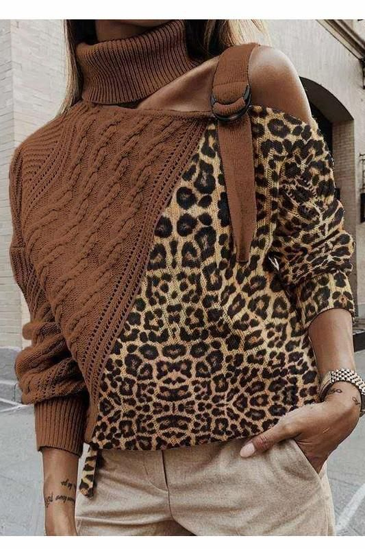 New Year New You Sweater in Taupe - S/M