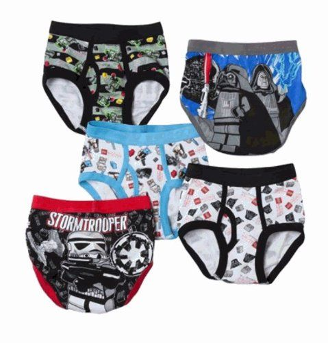 LEGO Star Wars Briefs - 5 Pack $19.99- OMG, Max would LOVE! Best ...