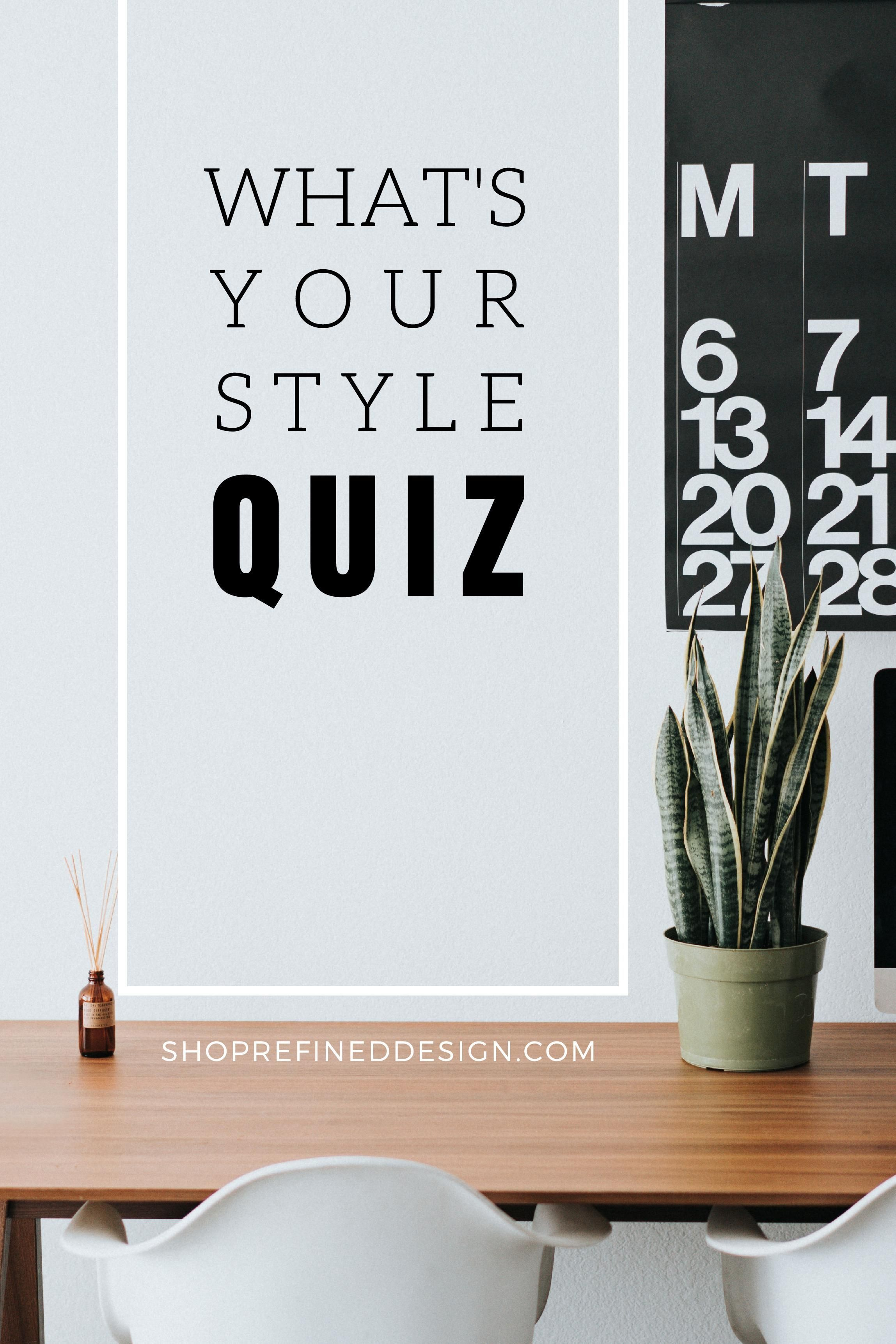 What S Your Interior Design Style Quiz Nadine Stay Design