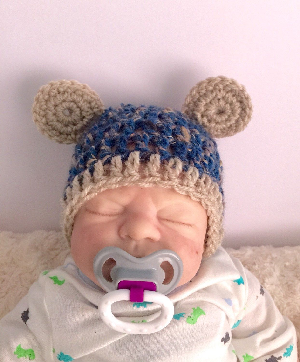 baby blue fitted hat