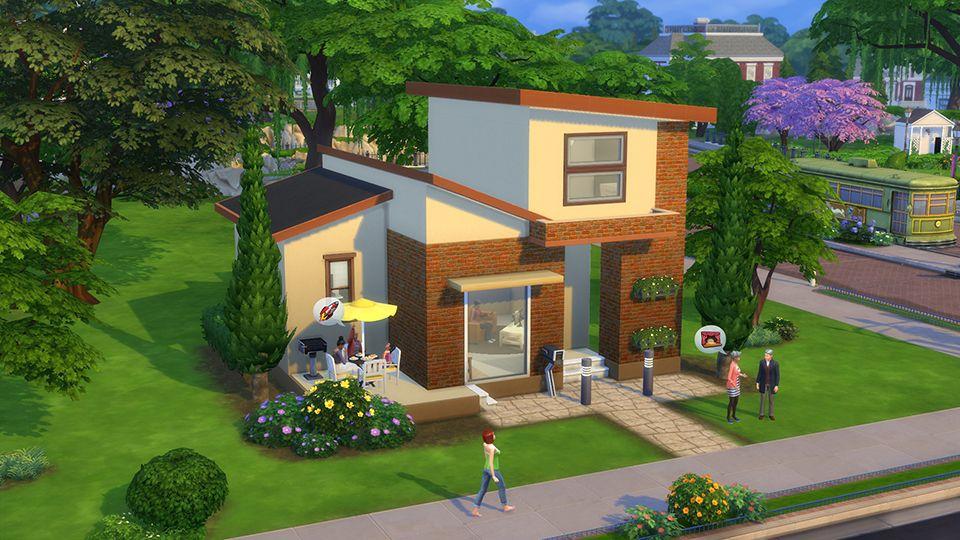 6 Starter Builds For Under 20k Simoleons Sims House Sims 4 House Building Sims 4 House Design