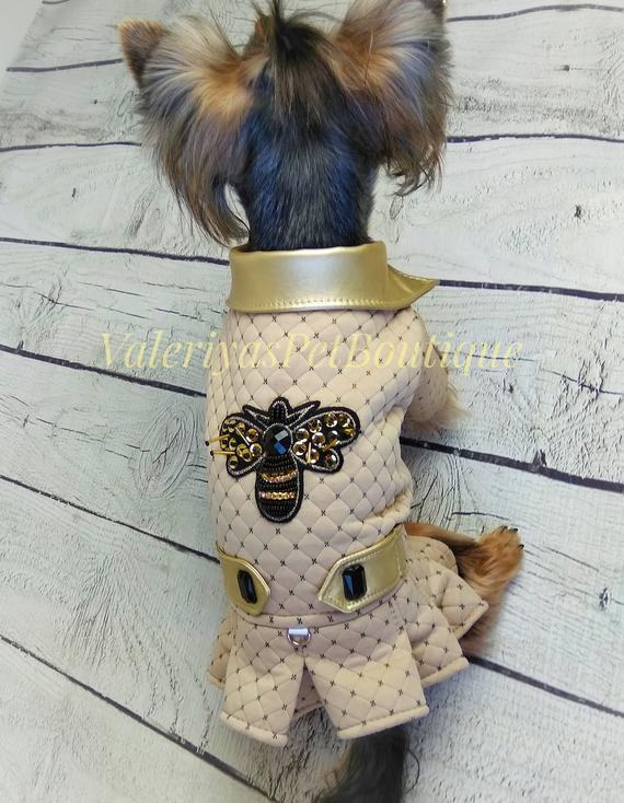 Warm Dog Coat Cute Dog Coat Dog Jacket Custom Made Dog Clothes Dog