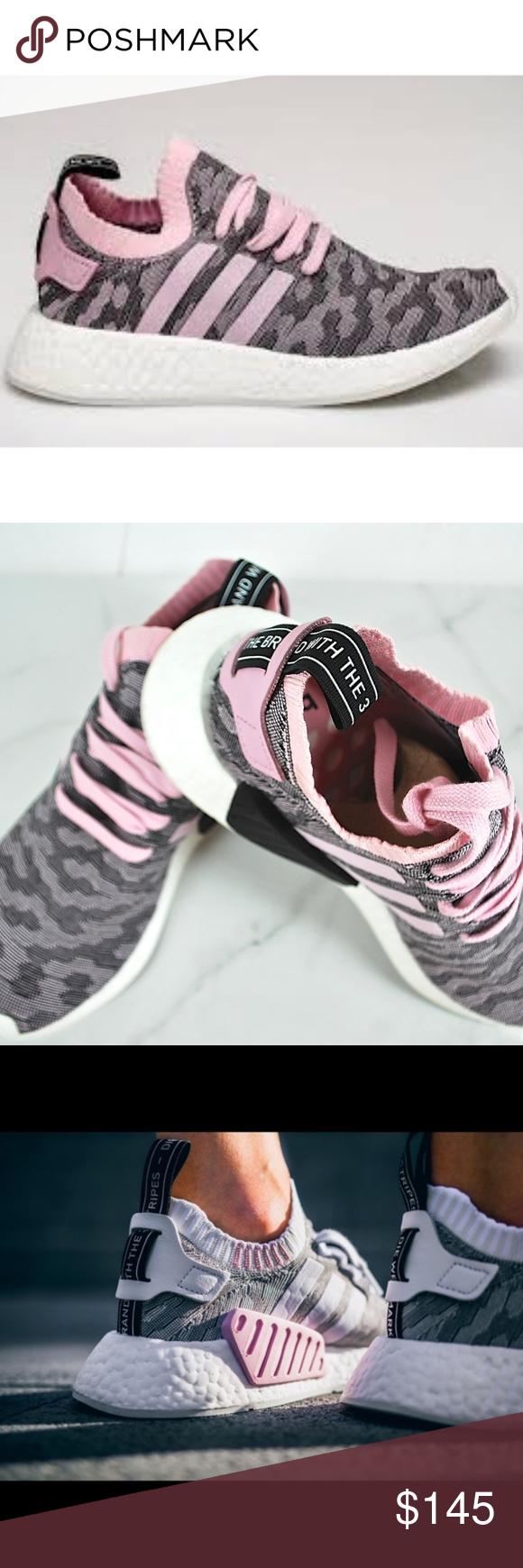 adidas nmd r2 primeknit casual scarpe femminili 9 nwt