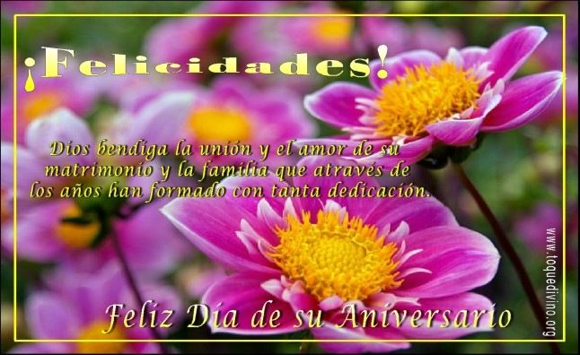 Frases Para Aniversario De Bodas: Tarjetas De Aniversario De Matrimonio