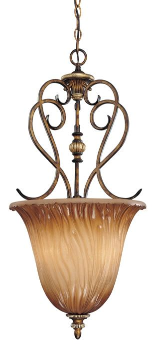 Lighting By Gregory: Minka Lavery Raffine 3 Light Pendant In Raffine Aged  Patina   964 243
