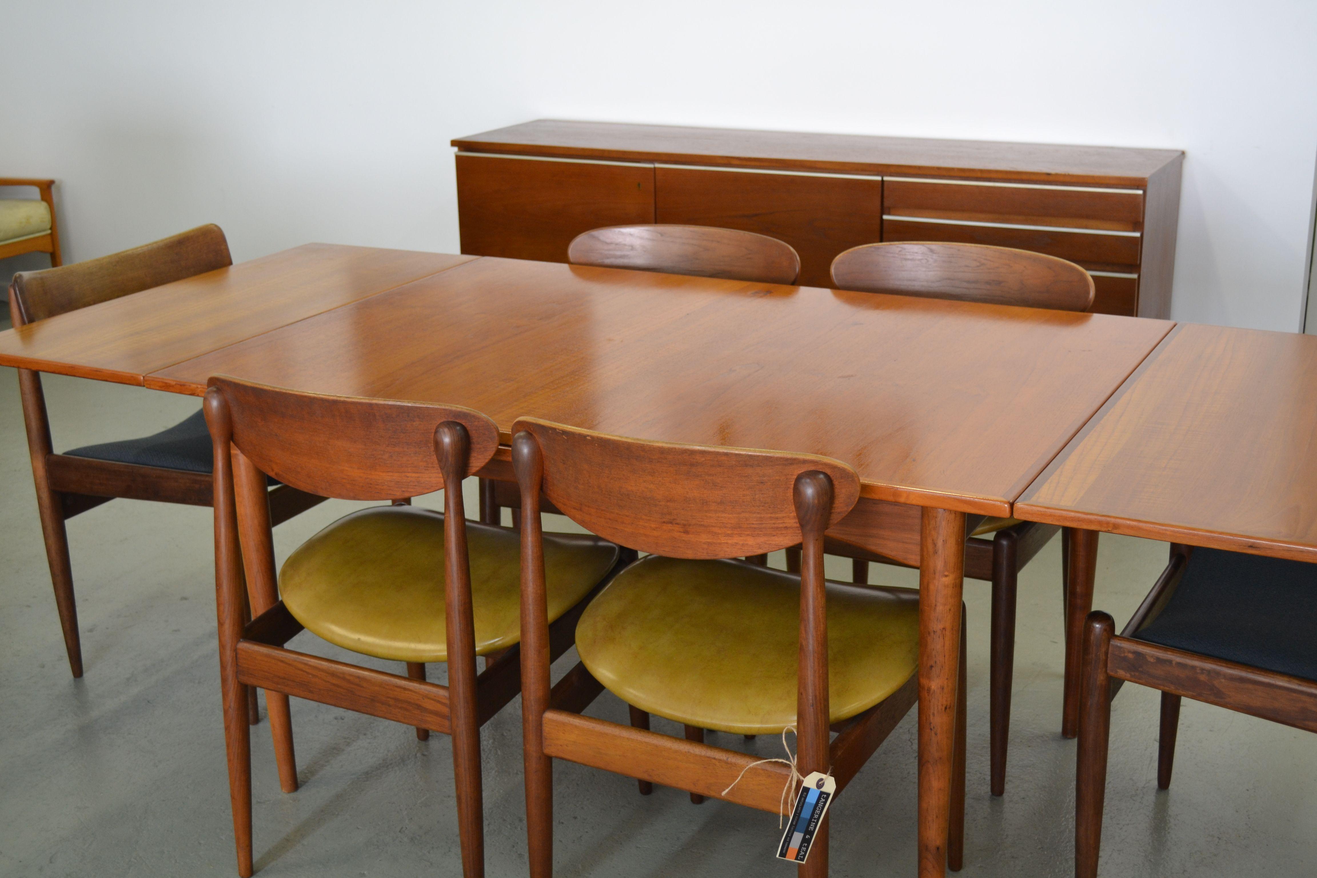 Mid Century Parker Furniture Australia Dining Chairs Teak
