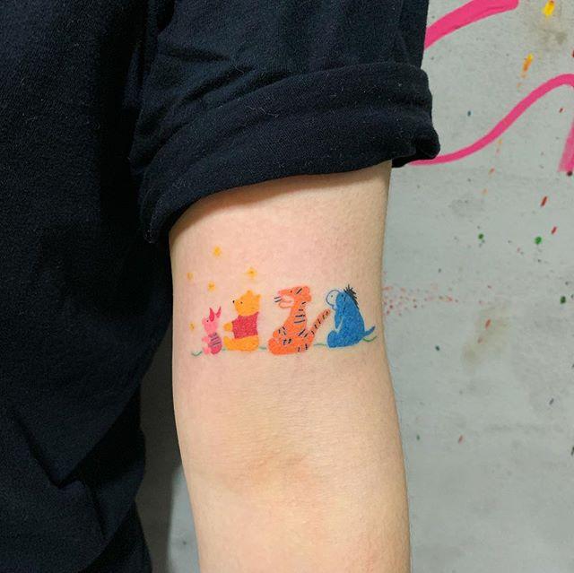 21+ Tatouage winnie l ourson inspirations