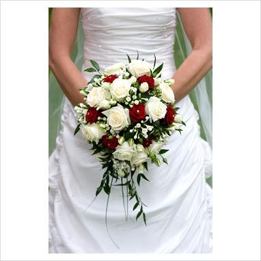 white rose bridal bouquet with crystal accents destiny photography ...