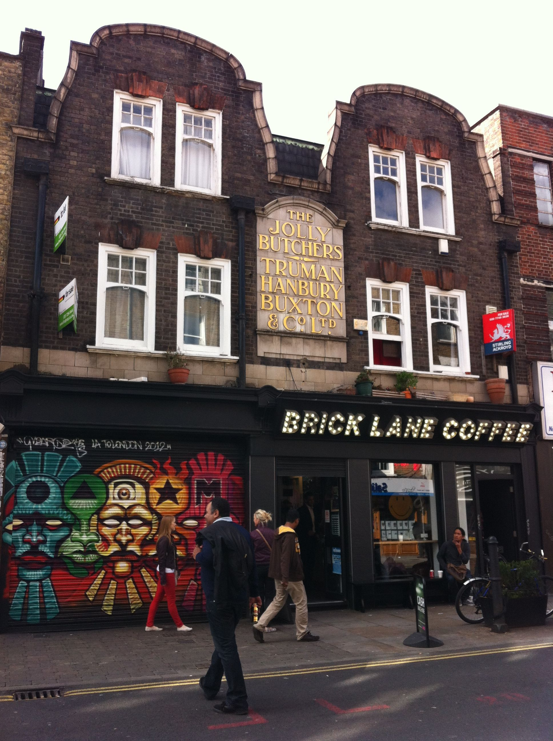 Brick Lane: A Collective Of Cultures...traditional, Urban And