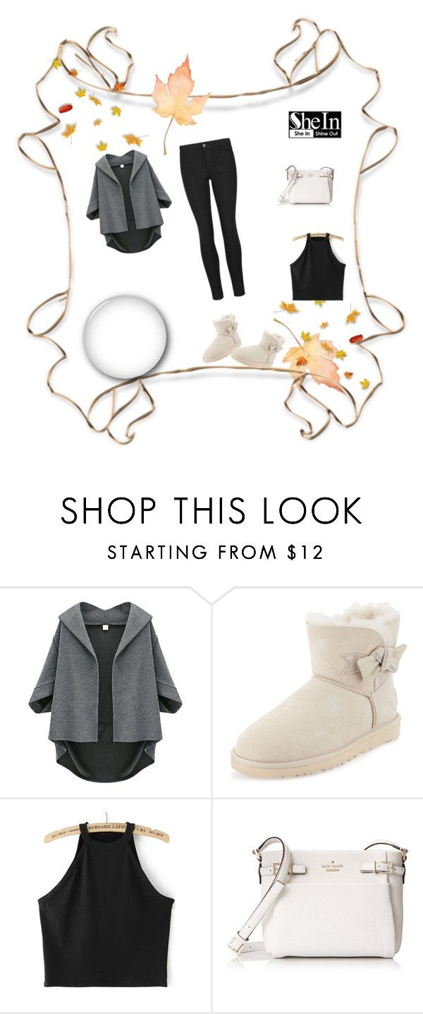 """""""New"""" by bnfhifau ❤ liked on Polyvore featuring UGG Australia and Kate Spade"""