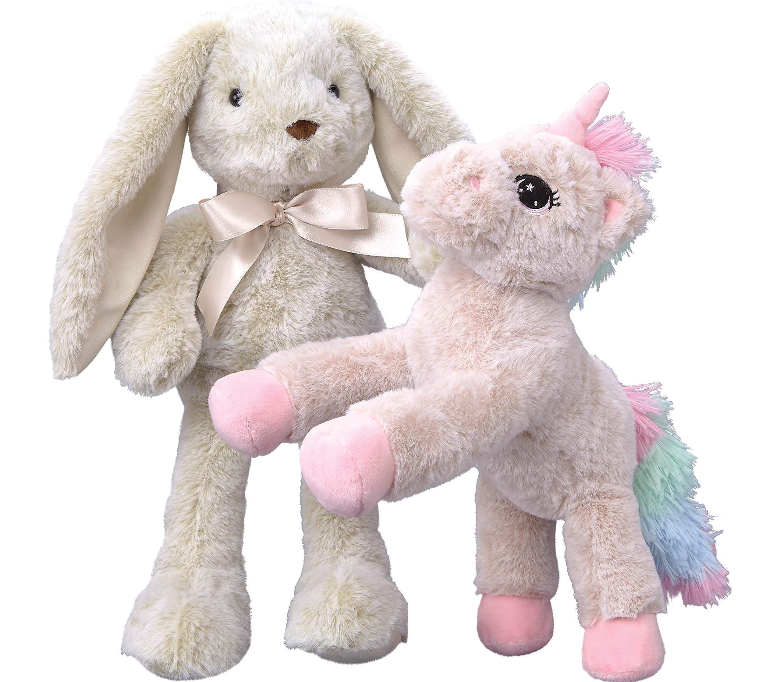 Predownload: Dragon Drew Unicorn And Bunny Stuffed Animals 2 Soft Plush Animal Toys For Baby Toddler And Kids Cute An Bunny Stuffed Animals Animal Plush Toys Baby Toys [ 2239 x 2560 Pixel ]