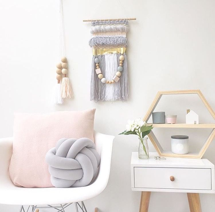 Pale Pink Grey White Gold Bedroom Vintage Bedroom
