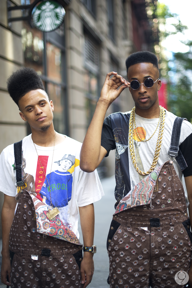 Just awesome. Bring back 90s black fashion. The Fresh Prince haircut is back already. Kick it up ...