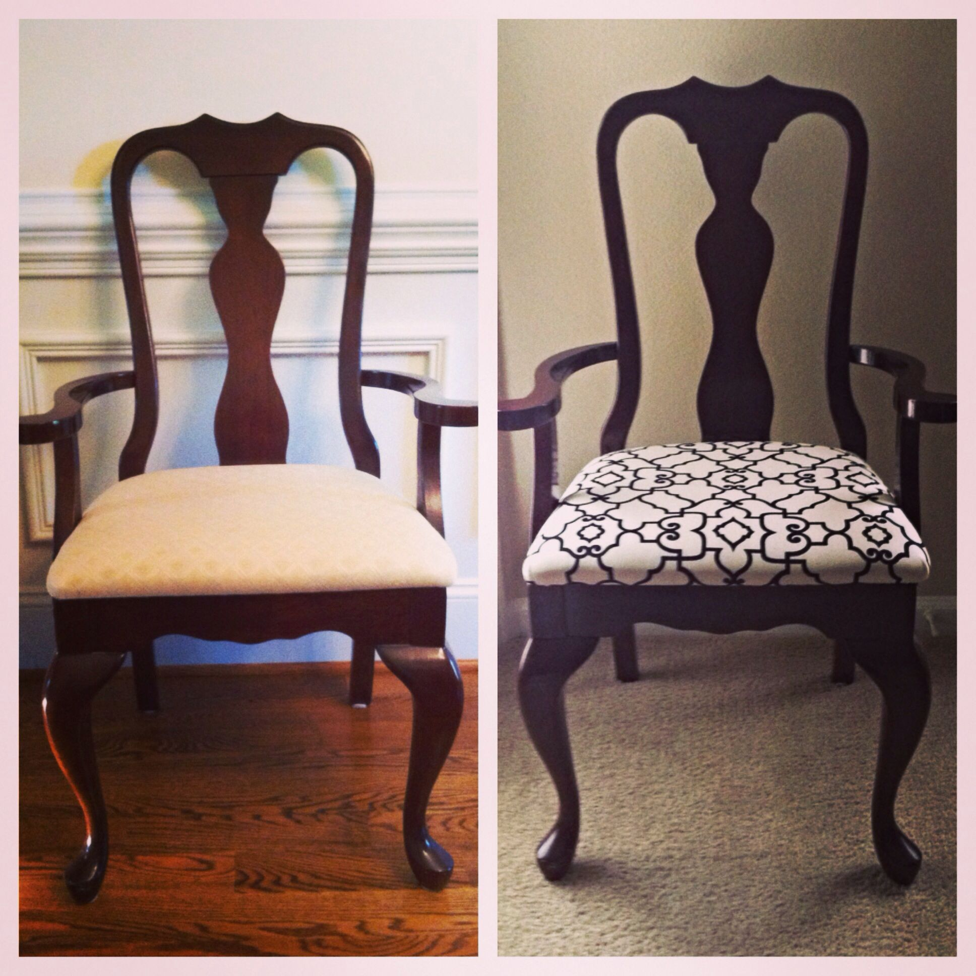 Merveilleux Reupholstered Dining Chair