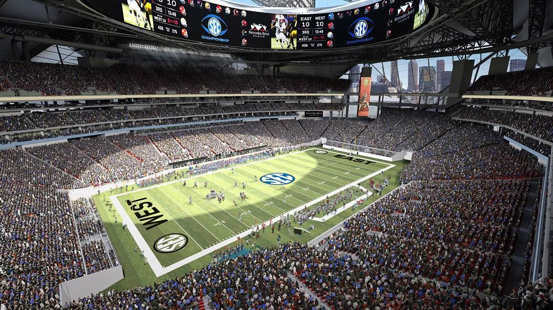 We're excited to announce that #MBStadium will be hosting the @sec Football Championship through 2026!