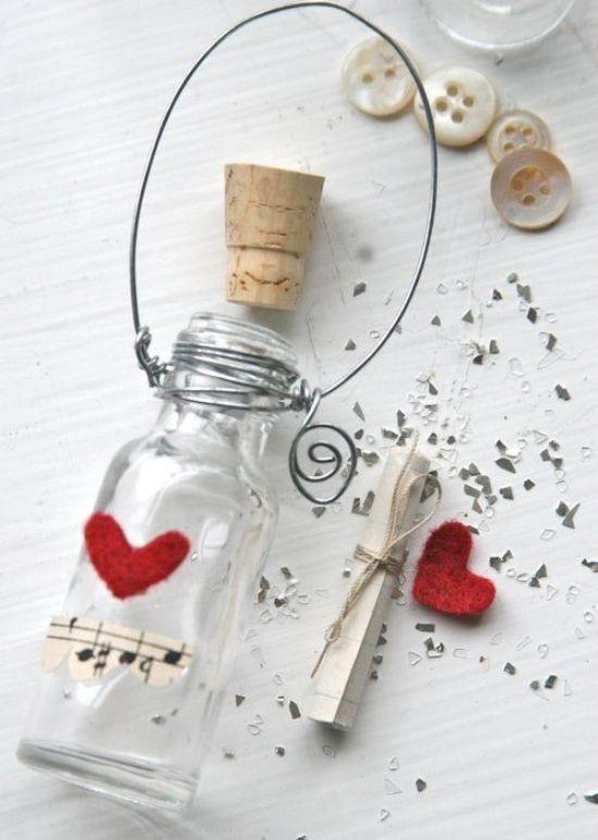 romantische ideen valentinstag liebesbrief flaschen. Black Bedroom Furniture Sets. Home Design Ideas