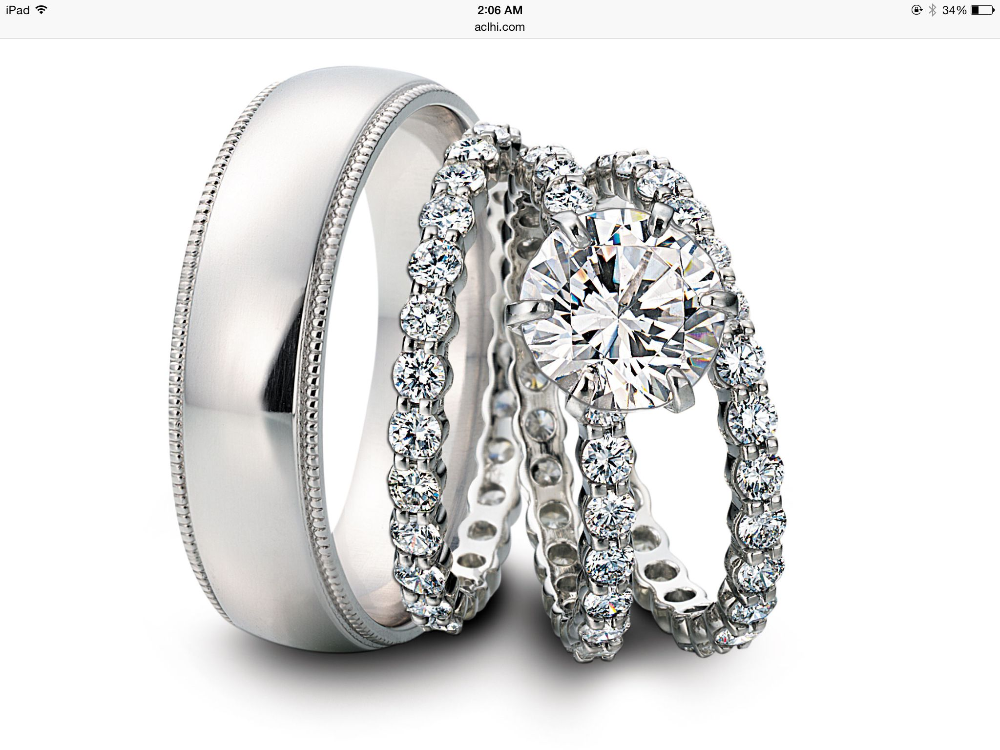 Wedding bands for 10 year anniversary Wedding rings sets