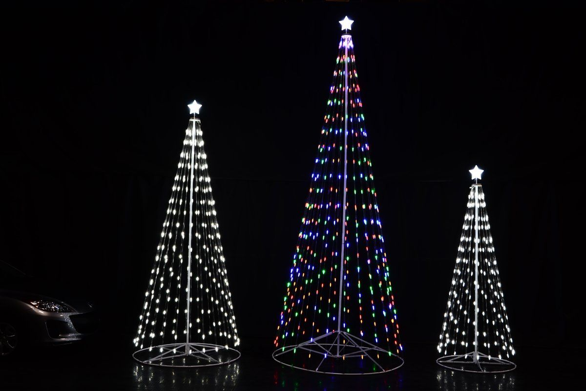 Outdoor Led Cone Tree Outdoor Holiday Decor Led Christmas Tree Outdoor Holidays