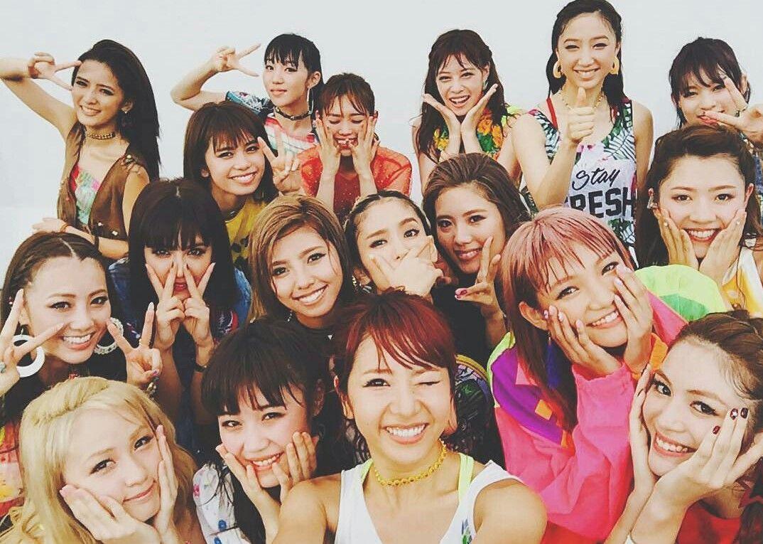 E Girls Eーgirls 藤井萩花 ダンス