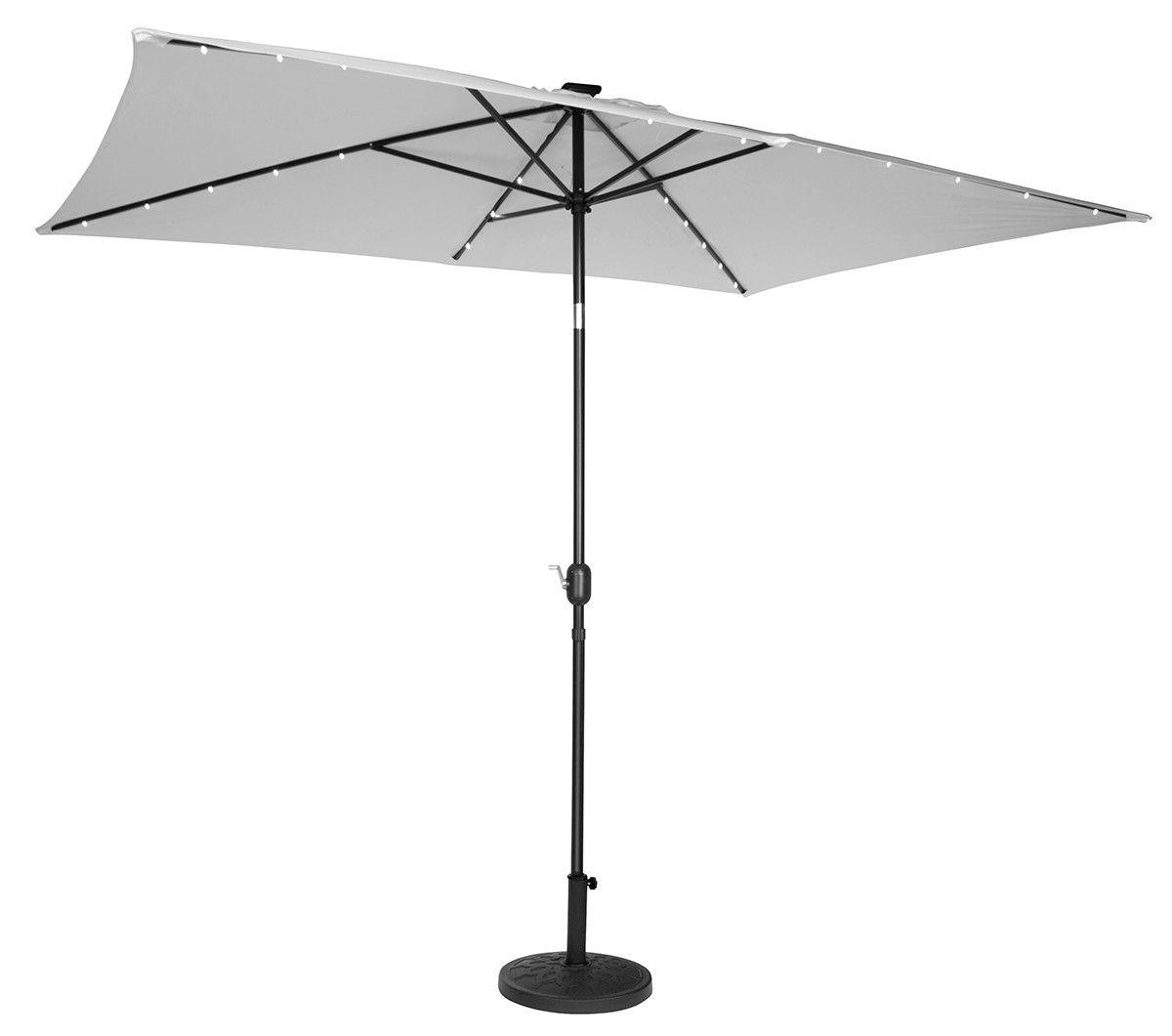 6.5' x 10' Rectangular Illuminated Umbrella