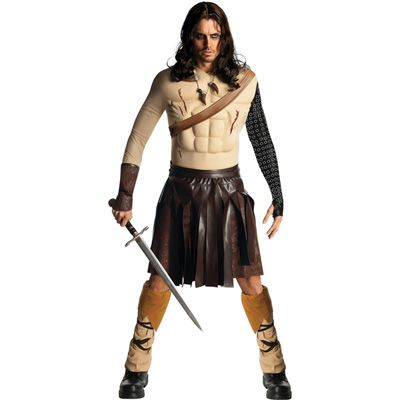 Highland warrior - sash, arm wrap  Conan the Barbarian Deluxe Mens Costume -  One Size (Standard) $70