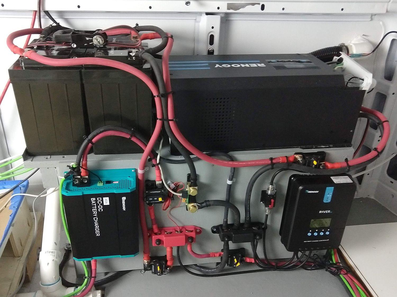 Promaster Camper Van Electrical System Wiring Diagram And Parts List Build A Camper Van Custom Camper Vans Transit Camper