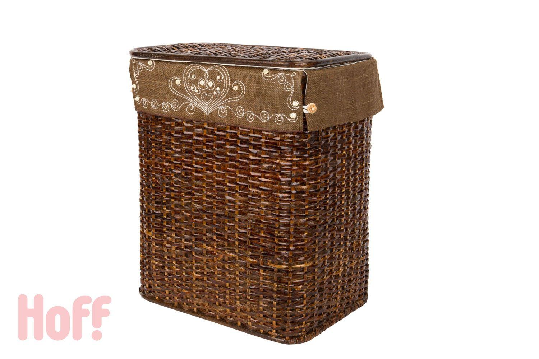 Корзина с крышкой Узор - купить в интернет-магазине Hoff. Характеристики, фото и отзывы.