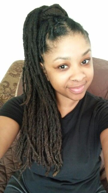 High Ponytail Loc Hairstyles And Loc Inspiration In 2018