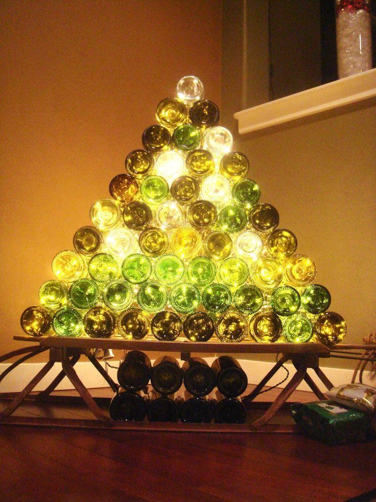Wine Bottle Tree 15 Beer And Wine Inspired Diy