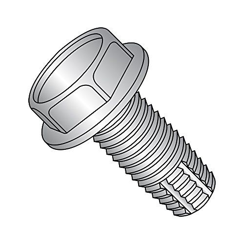 Pan Head Phillips Drive Pack of 25 1 Length 18-8 Stainless Steel Thread Rolling Screw for Metal #8-32 Thread Size Passivated Finish