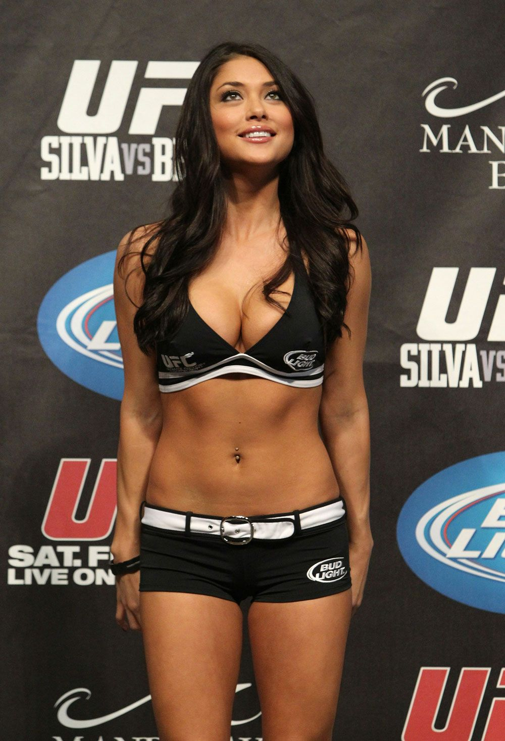 girls ring ufc aline playboy franzoi